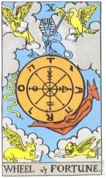 A Roda da Fortuna - Arcano 10